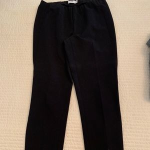 Vince straight leg cropped pants